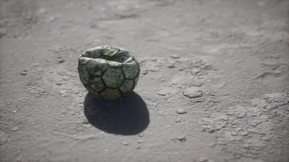 Thumbnail for Old Soccer Ball the Cement Floor