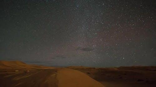 Desert Stars Starlapse Cosmos Sahara Astronomy