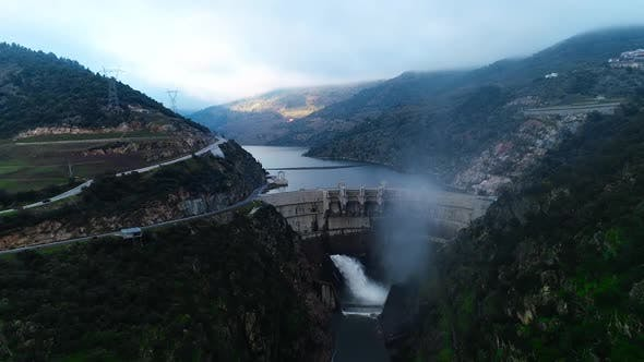 Thumbnail for Flying Over Hydroelectric Power Station
