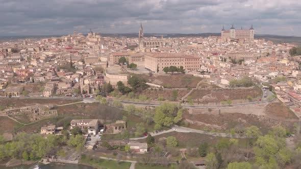 Luftaufnahme von Toledo