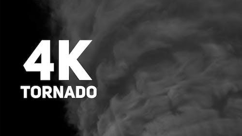 Tornado 4K - Close UP Shot