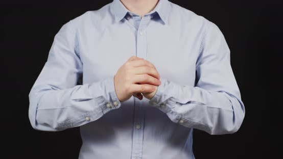 Thumbnail for Man cracking his knuckles