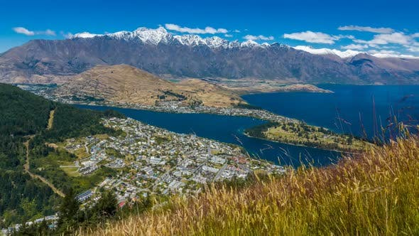Thumbnail for Queenstown New Zealand timelapse
