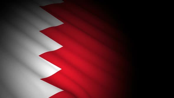 Thumbnail for Bahrain Flag Blowing in Wind
