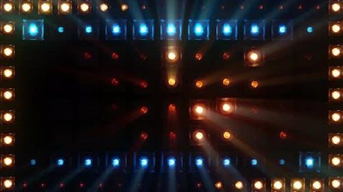 Laser-Licht-Show