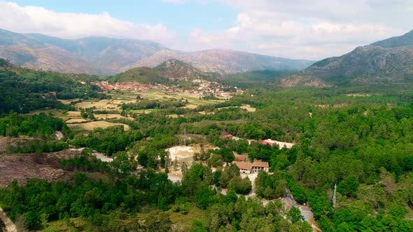 Thumbnail for Aerial Landscape in the Mountains