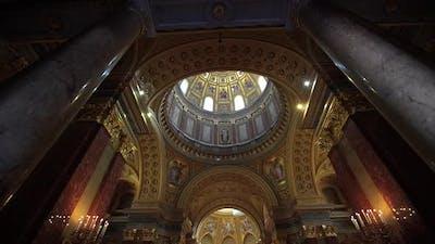 Inside of a  Church