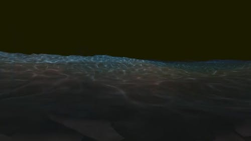 Seabed at night