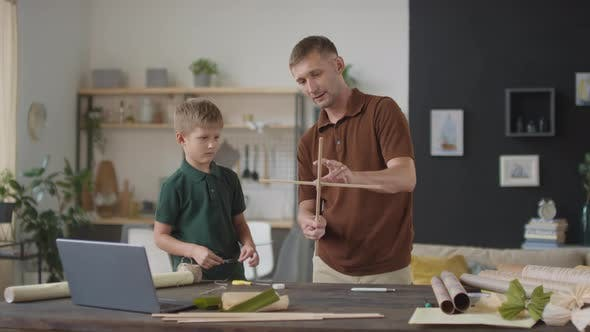 Thumbnail for Making Flying Kite At Home