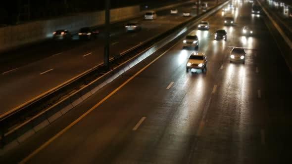 Thumbnail for Nightlight Car Road