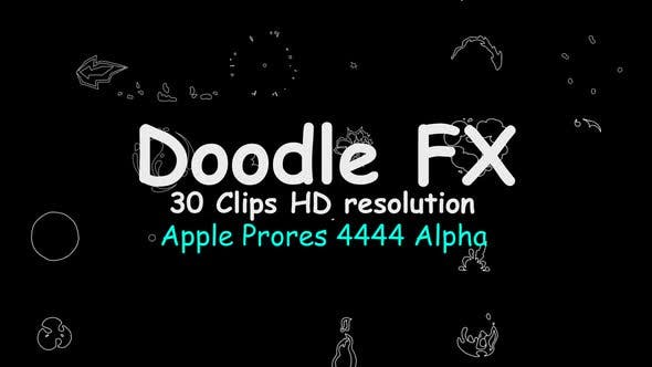 Thumbnail for Doodle Fx 30 Clips