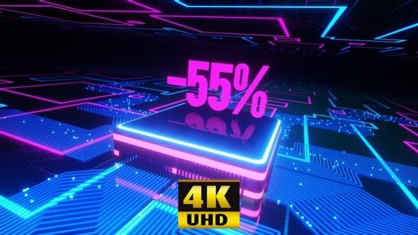 Neon 55% Off 4K