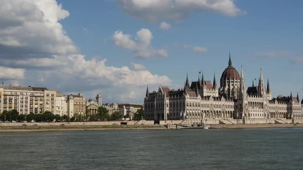 Thumbnail for View from A Cruise at Hungarian Parliament Building