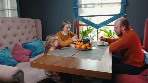 Thumbnail for Family in the Restaurant
