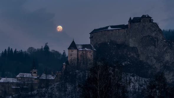Thumbnail for Full Moon over Dracula Castle