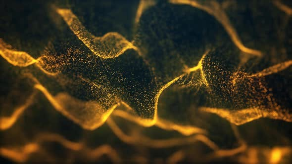 Thumbnail for Gold Particle Loop Background