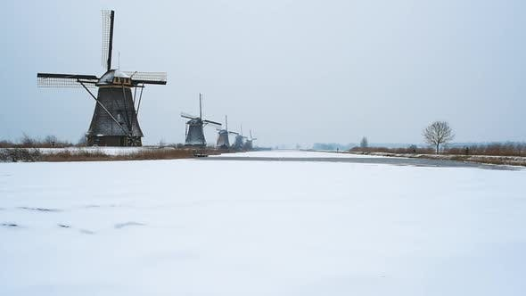 Thumbnail for Kinderdijk windmills