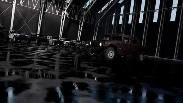 Thumbnail for Luxury Off-Road Vehicles in the Garage