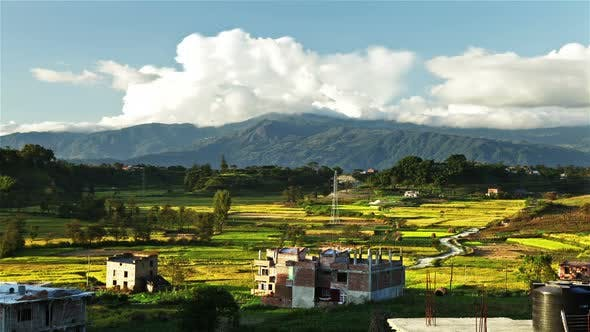 Thumbnail for Time-lapse of the countryside of Nepal