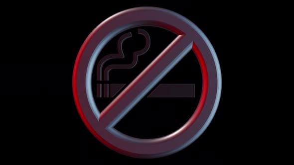 Thumbnail for Cigarette No Smoking Symbol