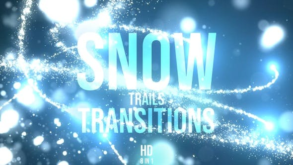 Thumbnail for Christmas Snow Transitions
