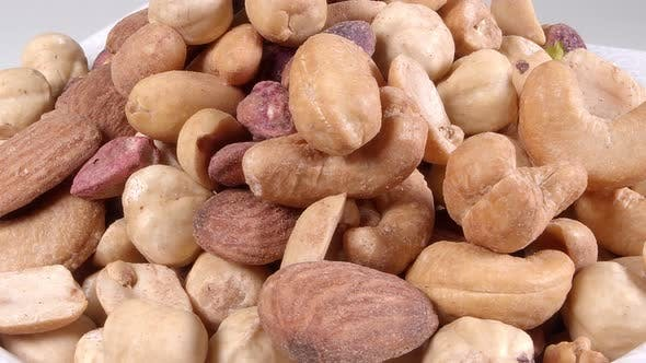 Rotating Assorted Nuts