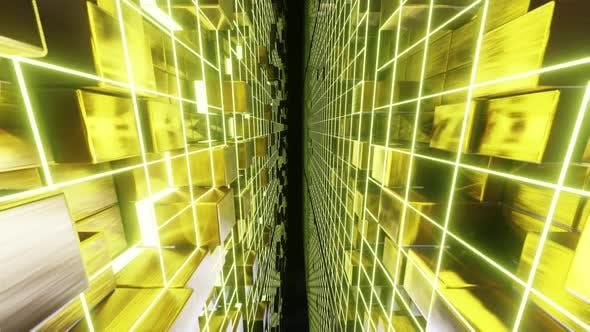Thumbnail for Fliegen auf Gold Cube 03 HD