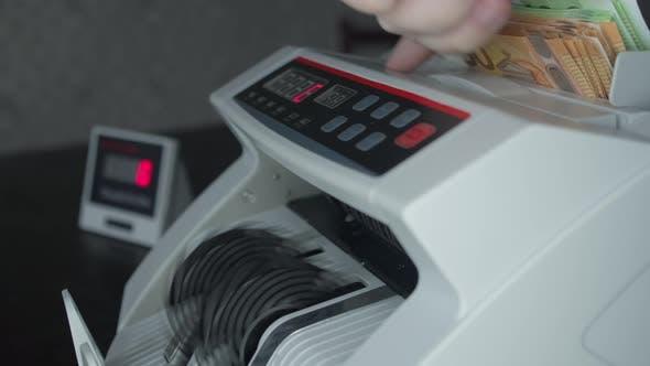 Cash Money Counting Machine