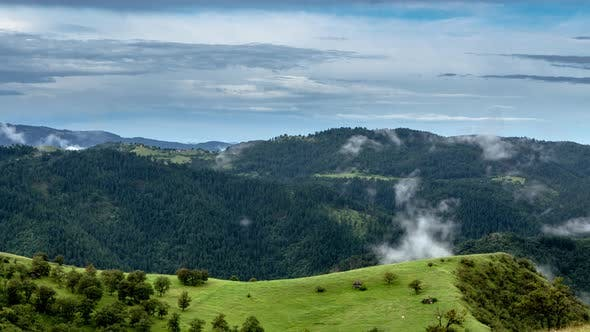 Thumbnail for Zlatibor Mountain Landscape Timelapse