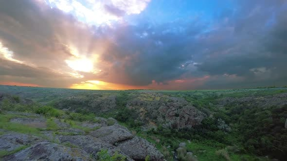 Thumbnail for Sunset over the Canyon