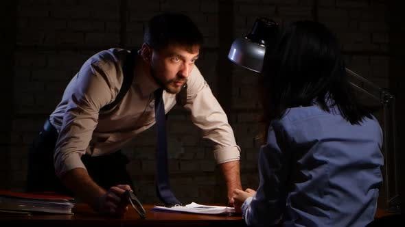 Thumbnail for Detective Man Offers To Make a Choice Prison or Indications