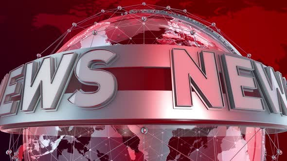 News Looping Background