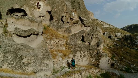 Explorer Woman In Cappadocia