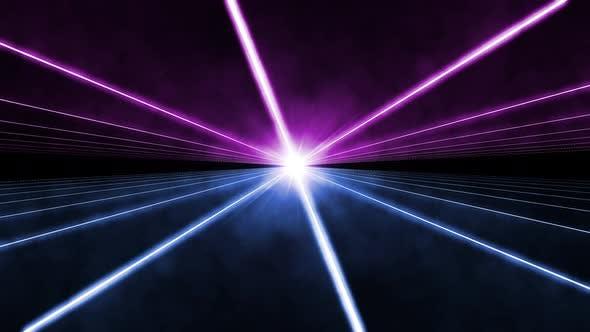 Laser Light Show 4K - Clip 04
