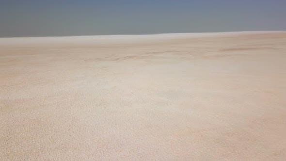 Thumbnail for Wide, White Urmia Salt Lake in Middle East, Iran