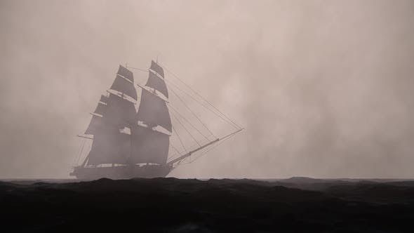 Thumbnail for Sailing Galleon - Dark Weather