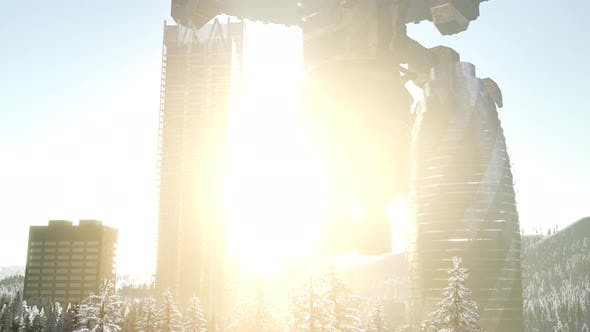 Thumbnail for Alien Spacecraft Is Hovering Above the City