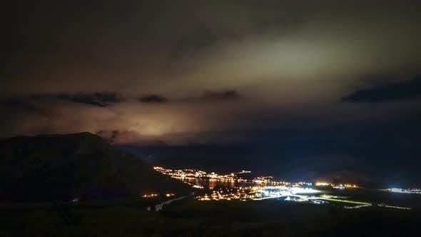 Queenstown daybreak timelapse