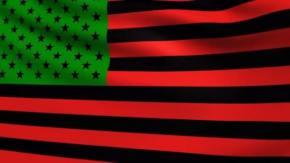 African American Flag 4k By Bourjart On Envato Elements