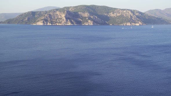 Thumbnail for Fascinating Mountain View Of The Aegean Sea.  .
