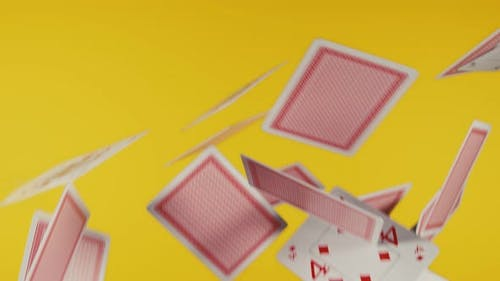 The Deck of Cards Explodes in  UHD