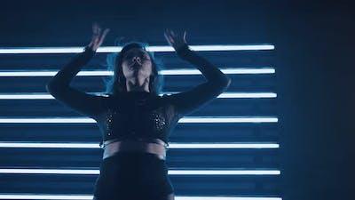 Seductive Dance in the Dark