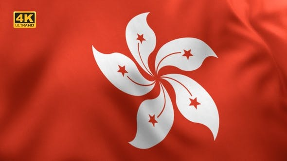 Thumbnail for Hong Kong Flag - 4K