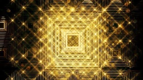 Gold-Glitzer und Reflexion Lichter 012 HD