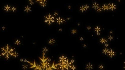 Snow Flakes Backdrop