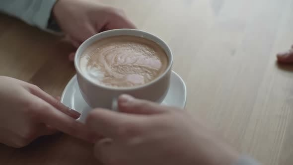 Thumbnail for Serving Cappuccino to Client