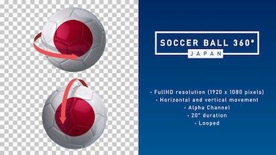 Soccer Ball 360º - Japan