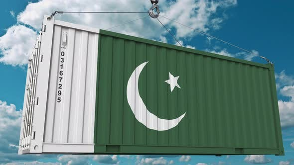 Cover Image for Container with Flag of Pakistan