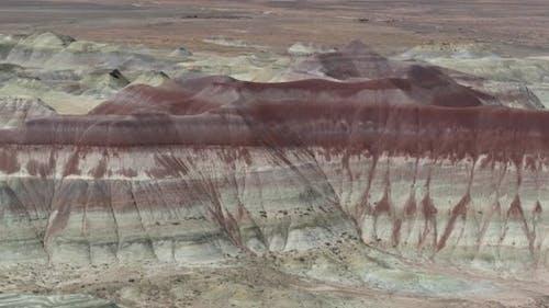Little Painted Desert in Winslow Arizona