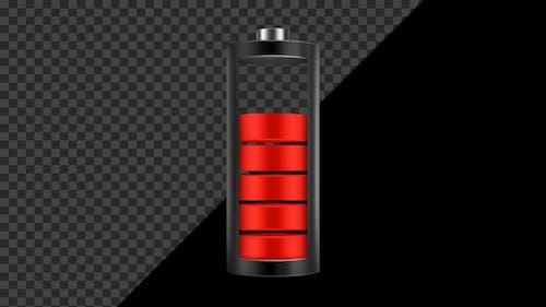 Phone Battery Charge Status Symbol